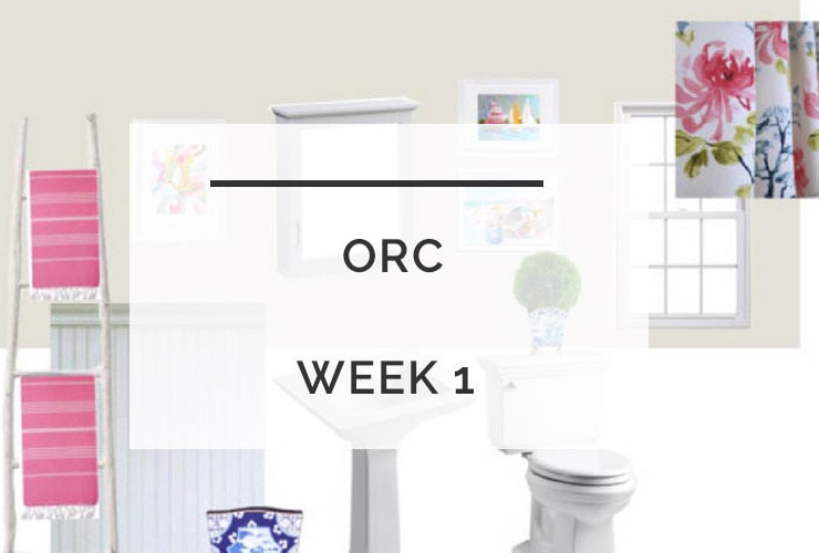 One Room Challenge: Powder Room Refresh