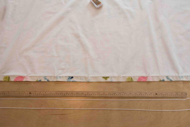 DIY Curtains | DIY Roman Shade | DIY Roman Shade Tutorial | All Things Big and Small