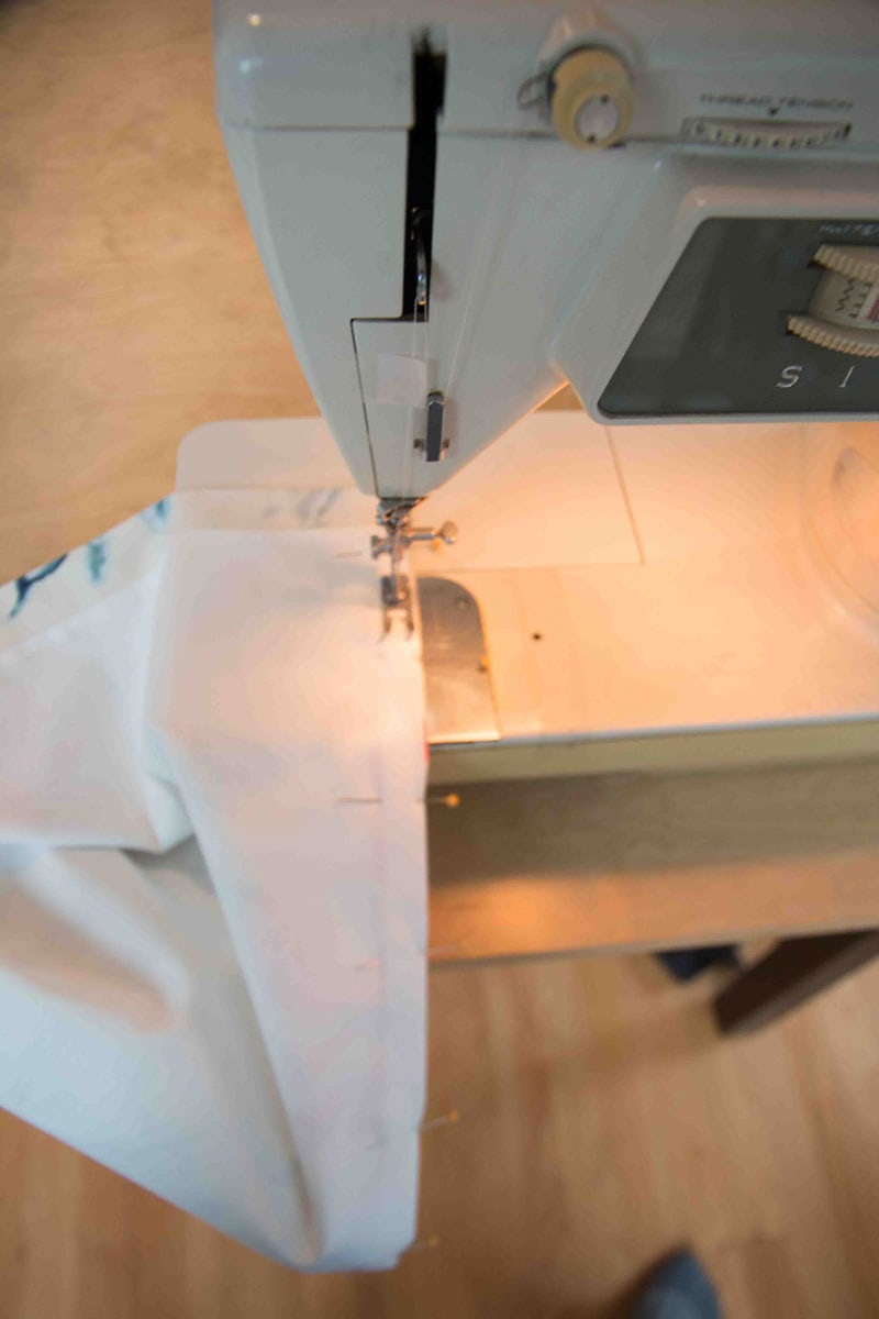 sewing machine how to Make roman shades with liner