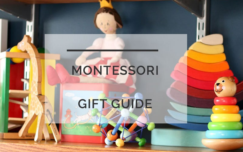 Montessori Gifts that Kids AND Parents Will Love by popular mom blogger DIY Decor Mom