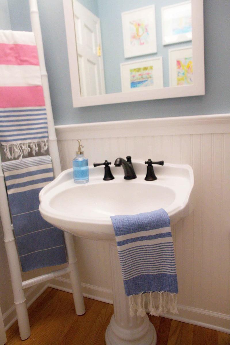 Bathroom Decorating Ideas   DIY Bathroom   ALL THINGS BIG AND SMALL
