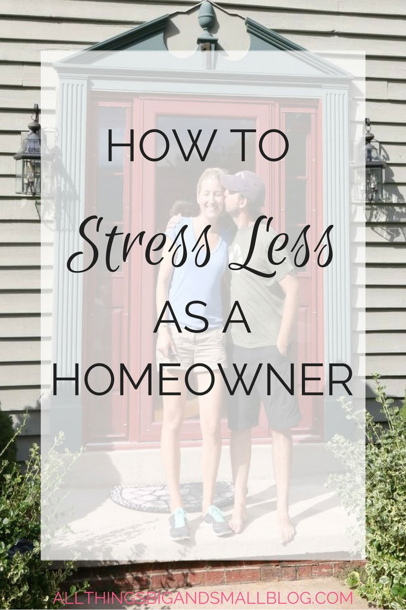 how to lessen homeowner stress #sponsored #Esurance @Esurance | All Things Big and Small