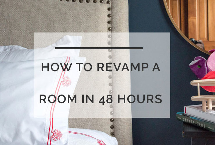 DIY Weekend Project: How To Refresh Your Guest Room in 48 Hours