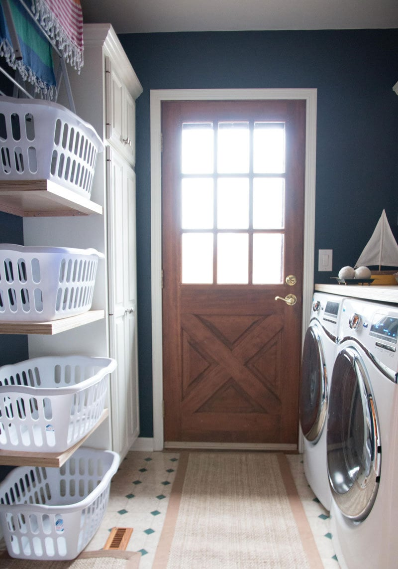 LAUNDRY ROOM MAKEOVER | LAUNDRY ROOM IDEAS | ALL THINGS BIG AND SMALL FOR ANGIES LIST