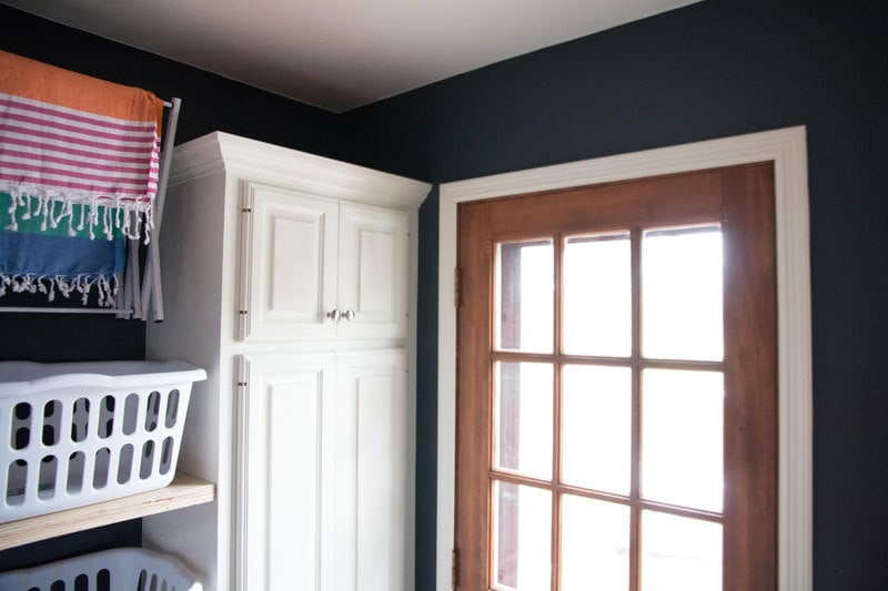 LAUNDRY ROOM IDEAS | LAUNDRY ROOM STORAGE MAKEOVER | ALL THINGS BIG AND SMALL FOR ANGIES LIST