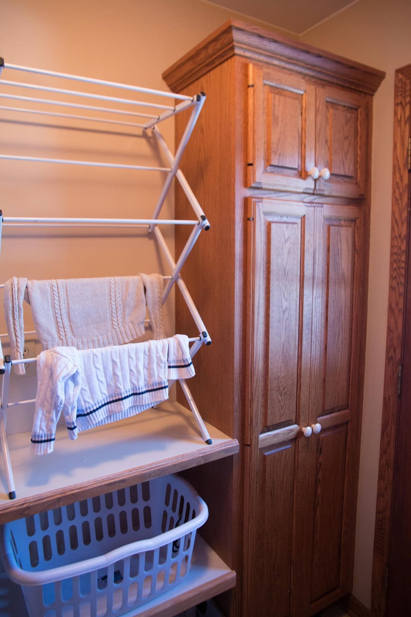 LAUNDRY ROOM REORGANIZATION | ALL THINGS BIG AND SMALL FOR ANGIES LIST