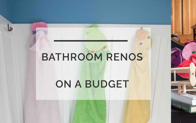 bathroom decorating ideas | budget friendly decorating | ALL THINGS BIG AND SMALL