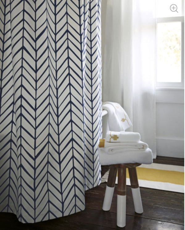 best shower curtains | stylish shower curtains | ALL THINGS BIG AND SMALL - 20 Best Shower Curtains to Decorate Your Bathroom by popular home decor blogger DIY Decor Mom