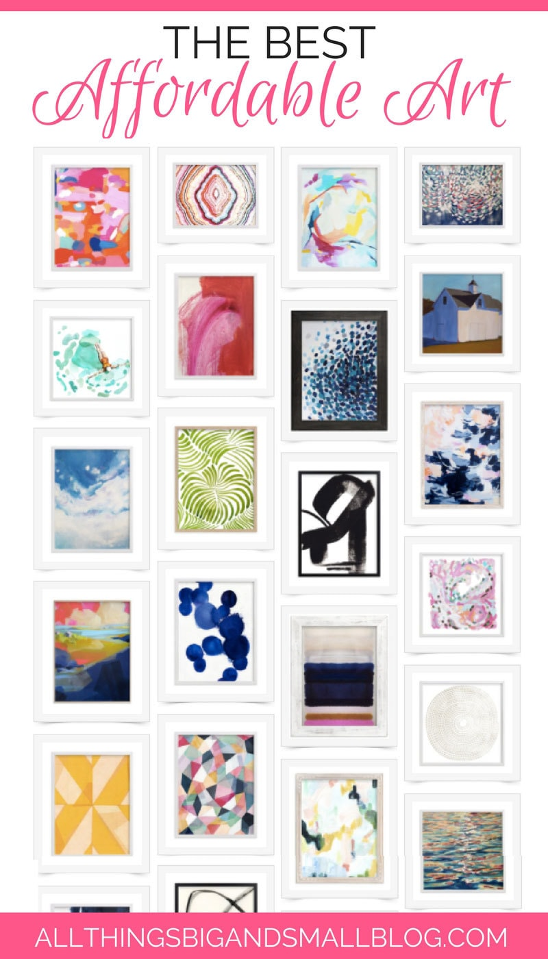 Affordable Art | Affordable Artwork | Decorate With Art | ALL THINGS BIG AND SMALL | AD @Minted