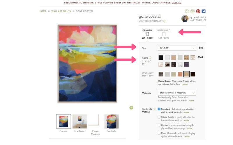 affordable art | how to find inexpensive art | art for your home | ALL THINGS BIG AND SMALL