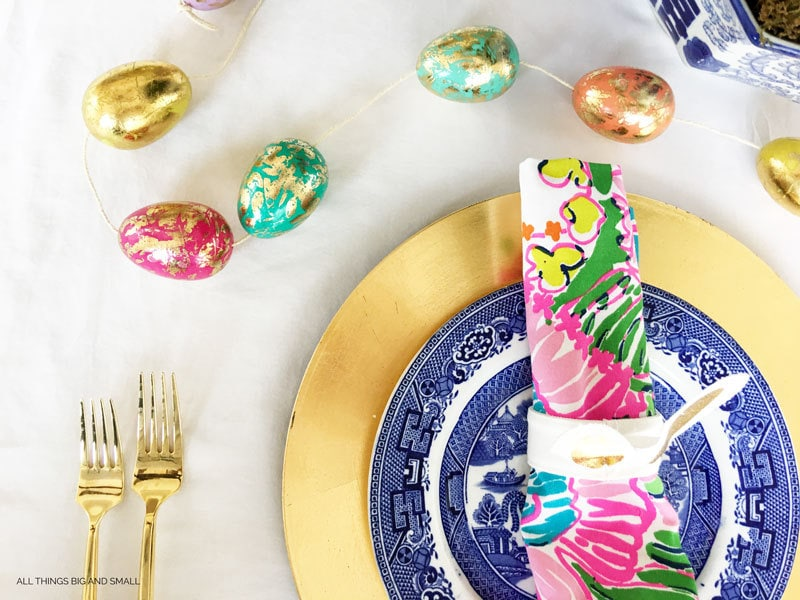 Easy Easter Tablescape | DIY Easter Tablescape | ALL THINGS BIG AND SMALL