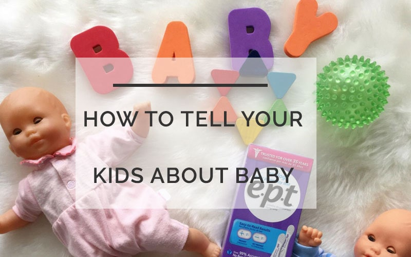 How To Tell Your Kids You're Having A Baby: Tips for Toddlers