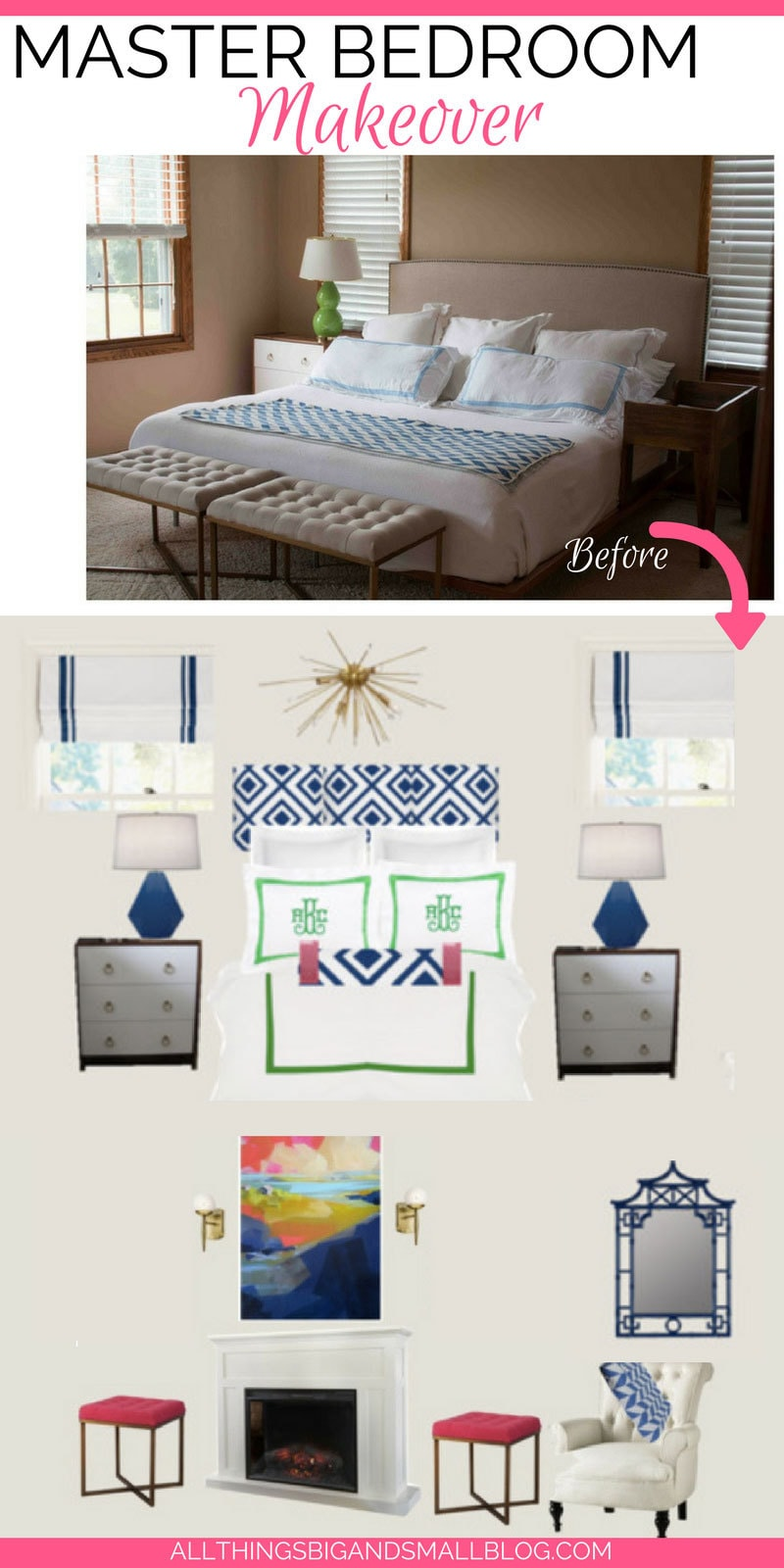 master bedroom makeover | AlL THINGS BIG AND SMALL