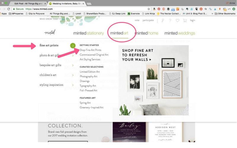how to find affordable art   affordable art   Affordable Artwork by popular home decor blogger DIY Decor Mom