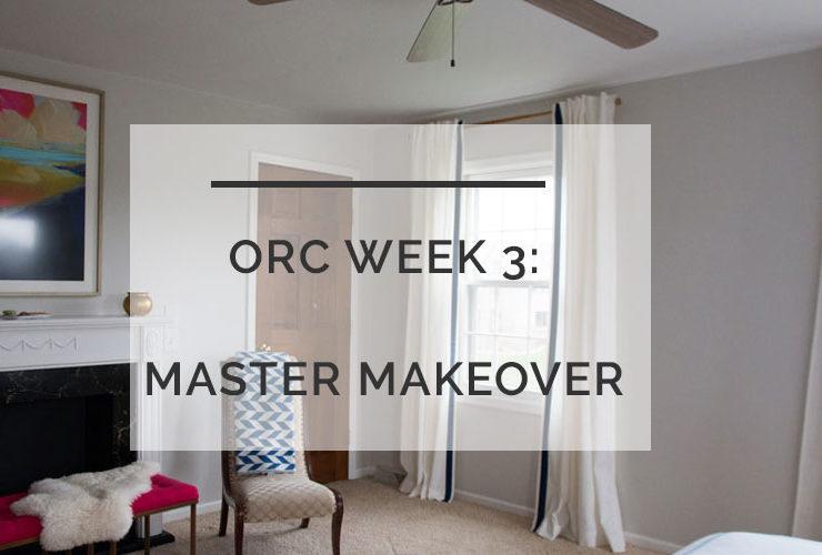 One Room Challenge: Week 3 Progress