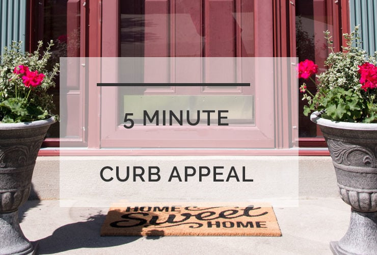 Curb Appeal Ideas: 5 Minute Upgrades for Busy Moms