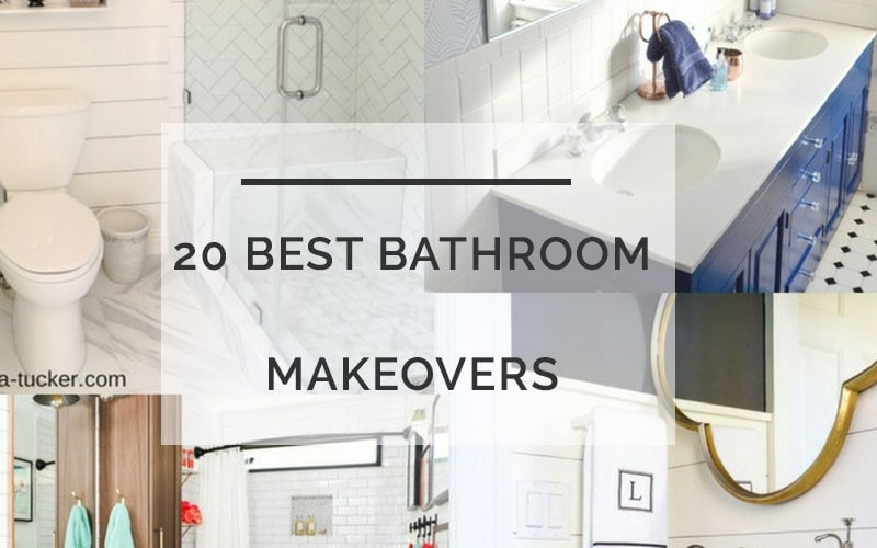 20 best diy bathroom makeovers on a budget