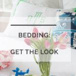Monogrammed Bedding: Get the Look