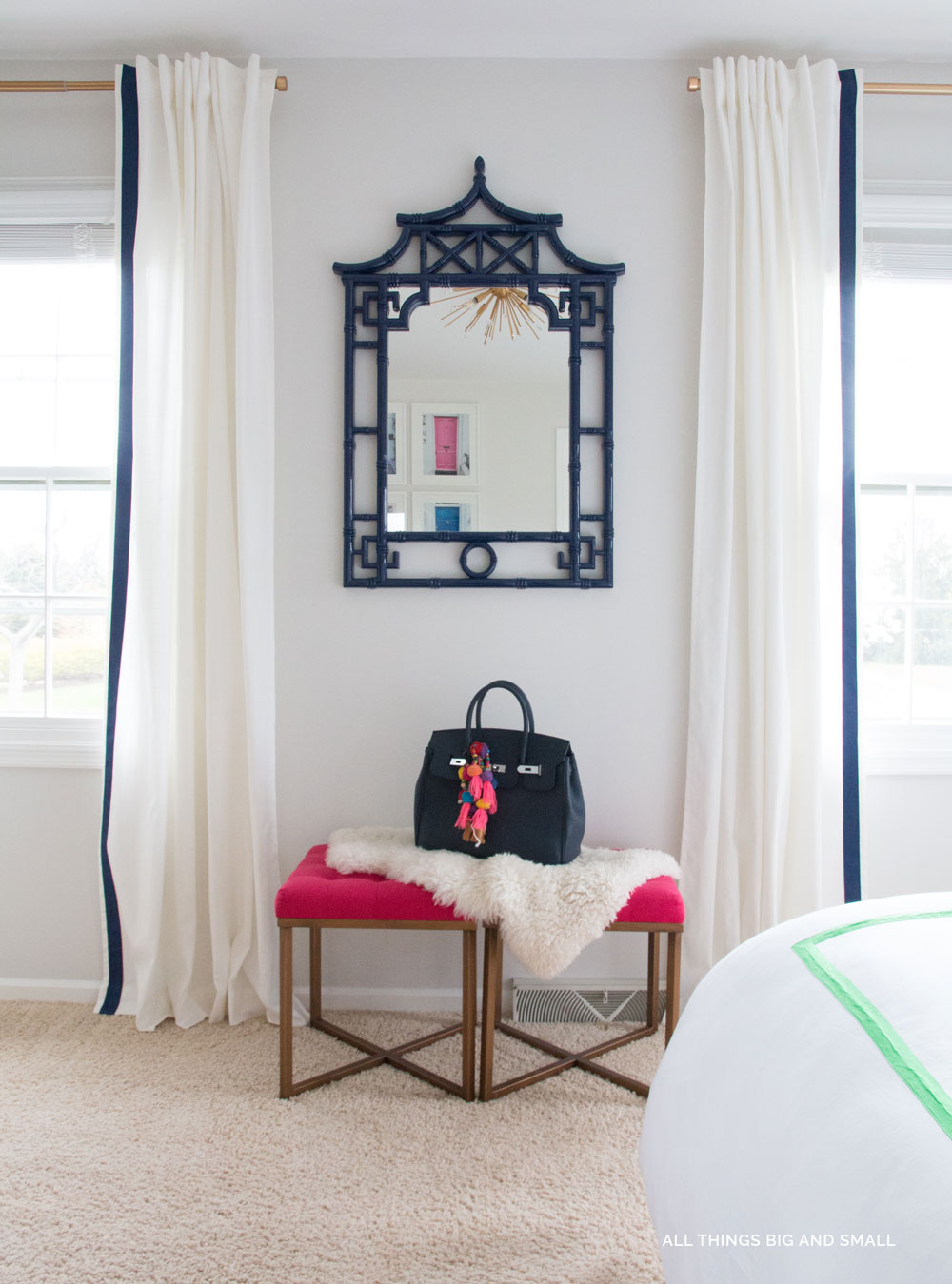 Budget Friendly Master Bedroom Makeoverr- One Room Challenge - ALL THINGS BIG AND SMALL