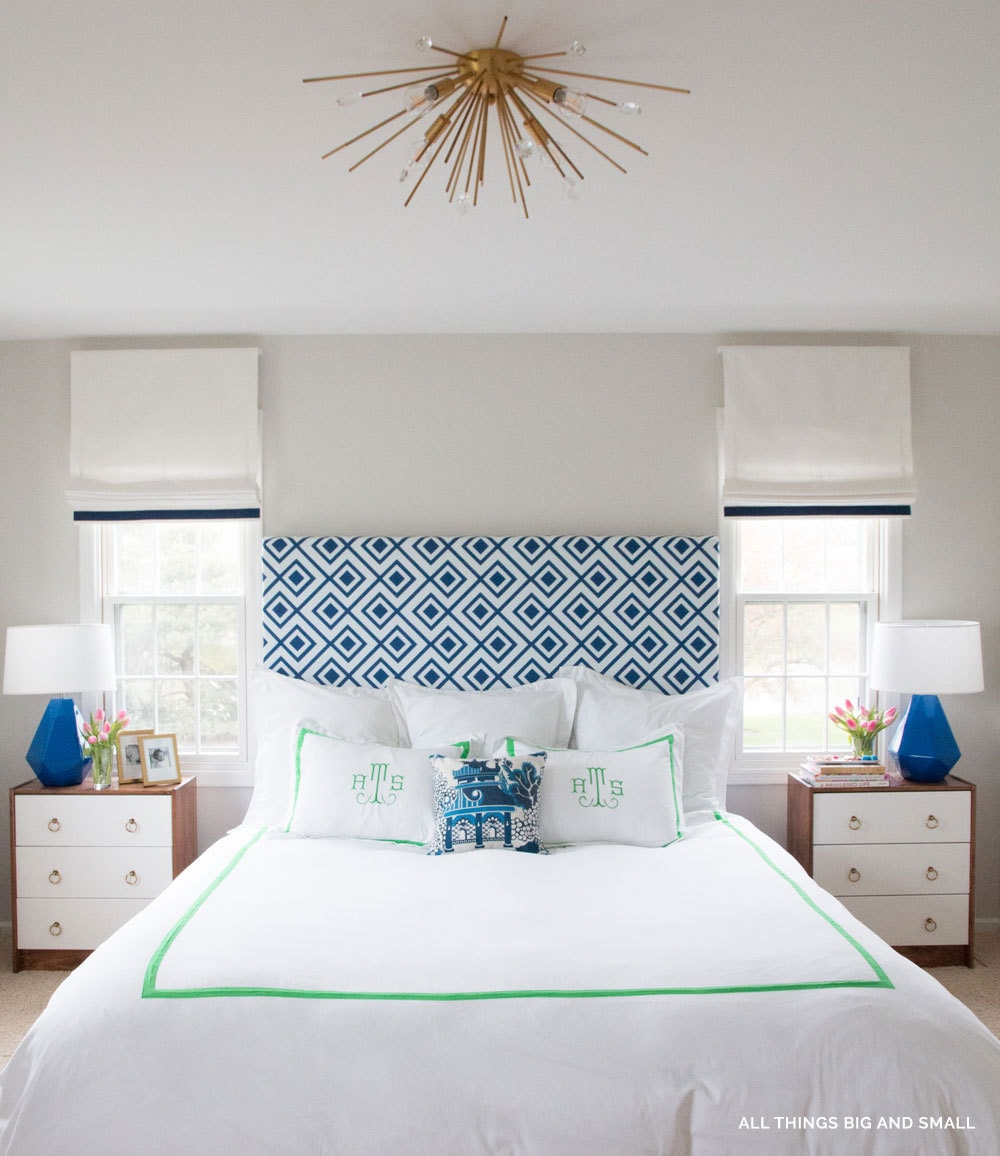 Gorgeous bedroom makeover- One Room Challenge - ALL THINGS BIG AND SMALL