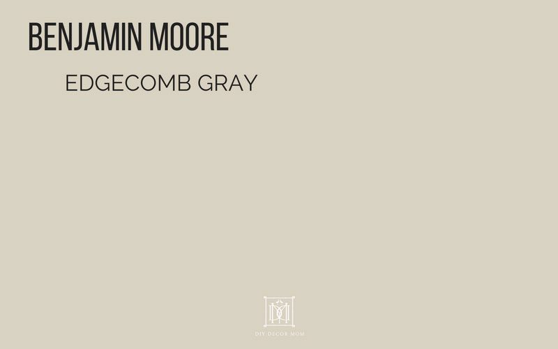 Benjamin Moore Edgecomb Gray Best Paint Colors