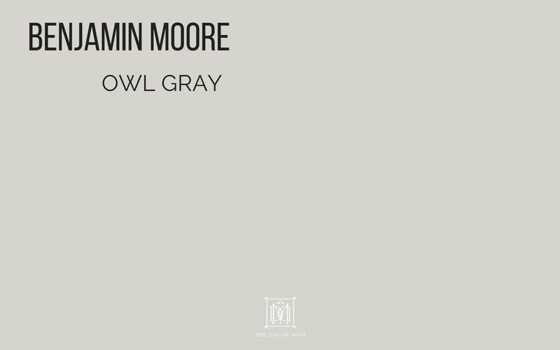 Benjamin Moore Owl Gray Paint colors