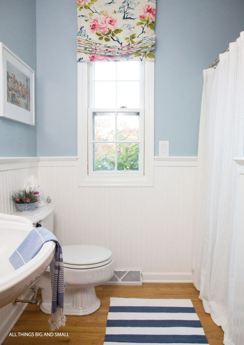 Beau Beadboard Bathroom How To Step By Step | ALL THINGS BIG AND SMALL