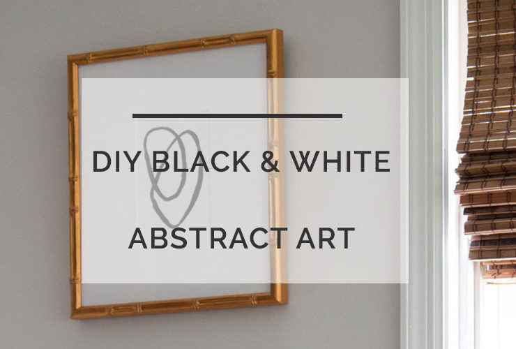 Black and White Art: Easy Abstract Art Anyone Can Do