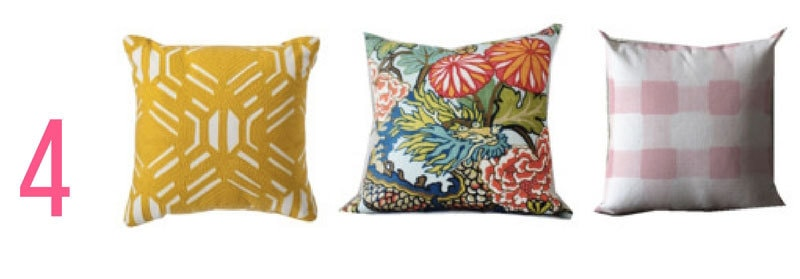 easy throw pillow combinations | ALL THINGS BIG AND SMALL