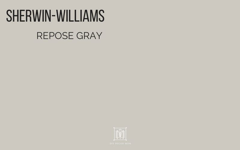 Repose Gray Sherwin Williams Best Paint Colors