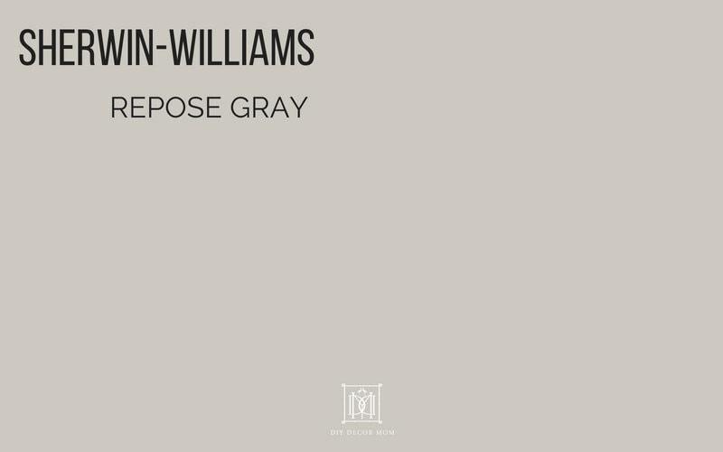 repose gray sherwin williams best gray paint colors