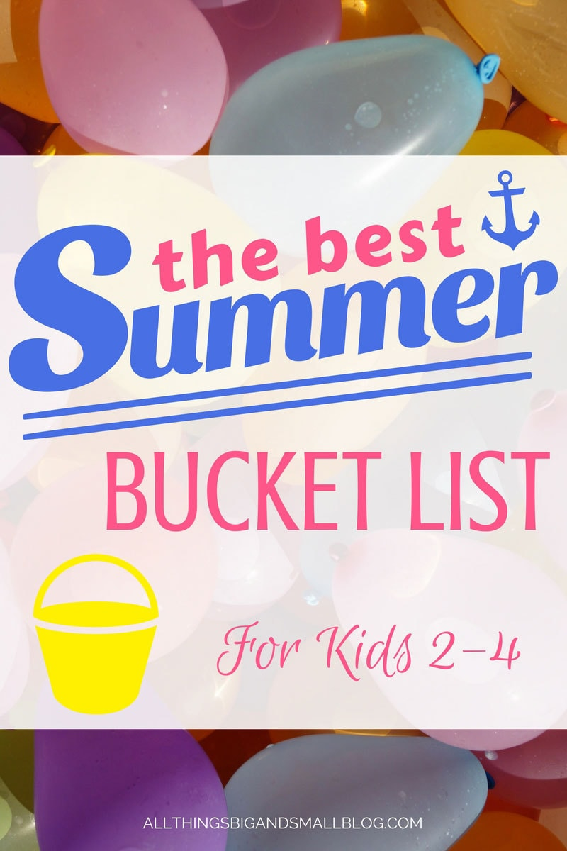 Summer Bucket List | ALL THINGS BIG AND SMALL #ad