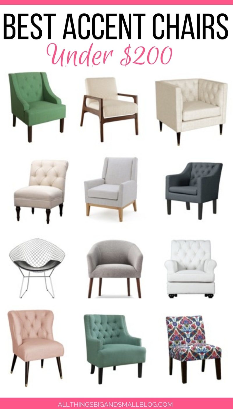 Affordable Accent Chairs 20 Stylish Chairs Under 200