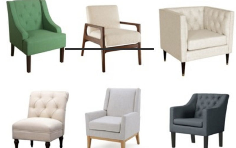 affordable accent chairs that look way more expensive