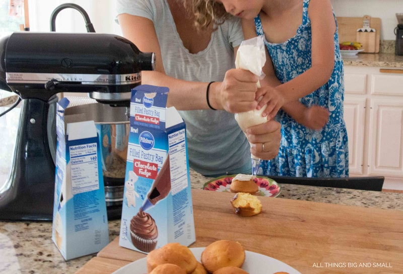 Easy Toddler Friendly Baking and Frosting - Kids Cooking Utensils: The Best Tools for Getting Kids Helping in the Kitchen by popular mom blogger DIY Decor Mom