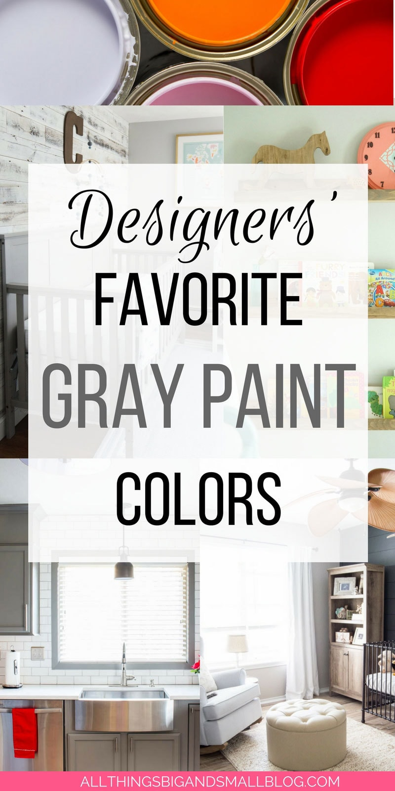the best grey paint colors for your home | ALL THINGS BIG AND SMALL
