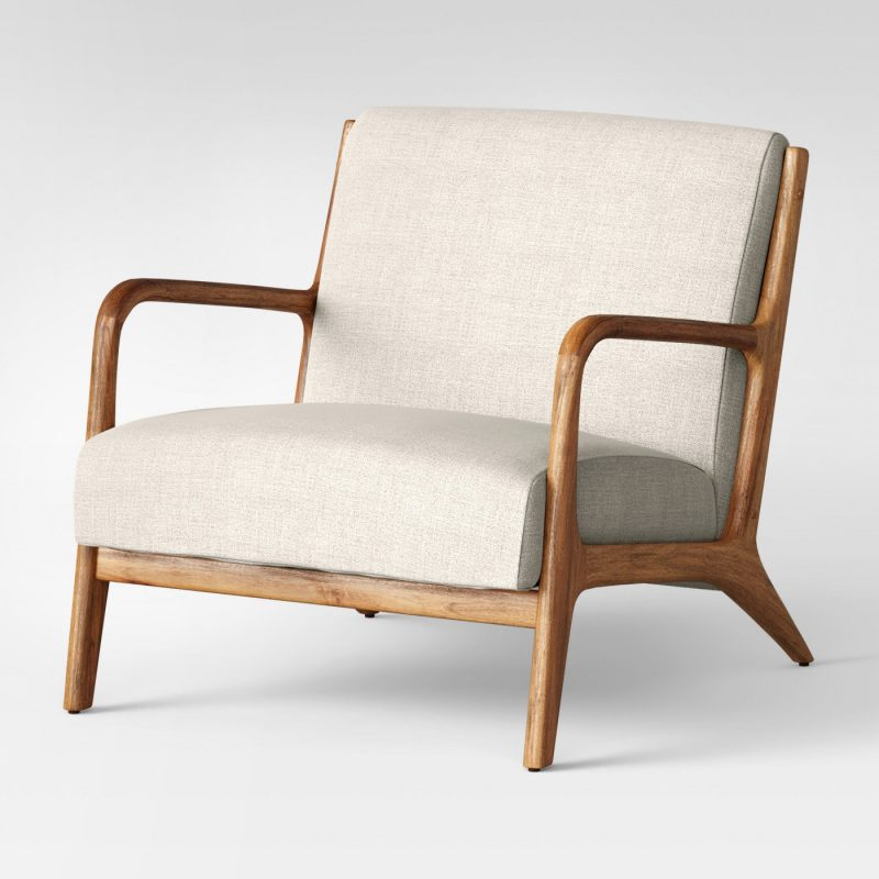 midcentury target accent chair under 200