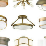 Brass Ceiling Light: The Best Affordable Flush-Mount and Semi-Flush Mounts for Your Home