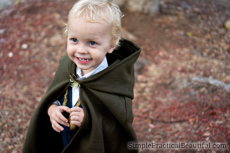 DIY Kids Costume- Hobbit