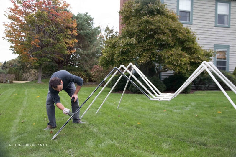OMG! Love this Giant spider Halloween decoration