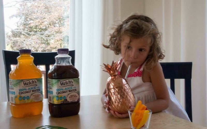 Mom Hack: Getting Kids to Drink Coconut Water