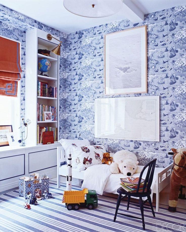 blue playroom ideas