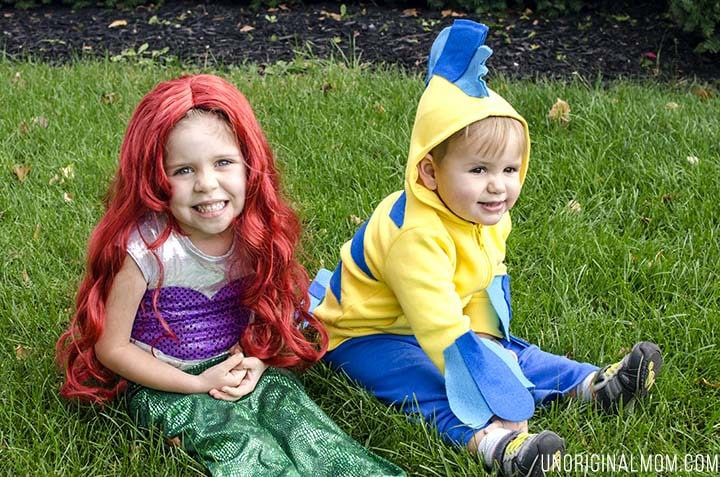 diy costume halloween- little mermaid
