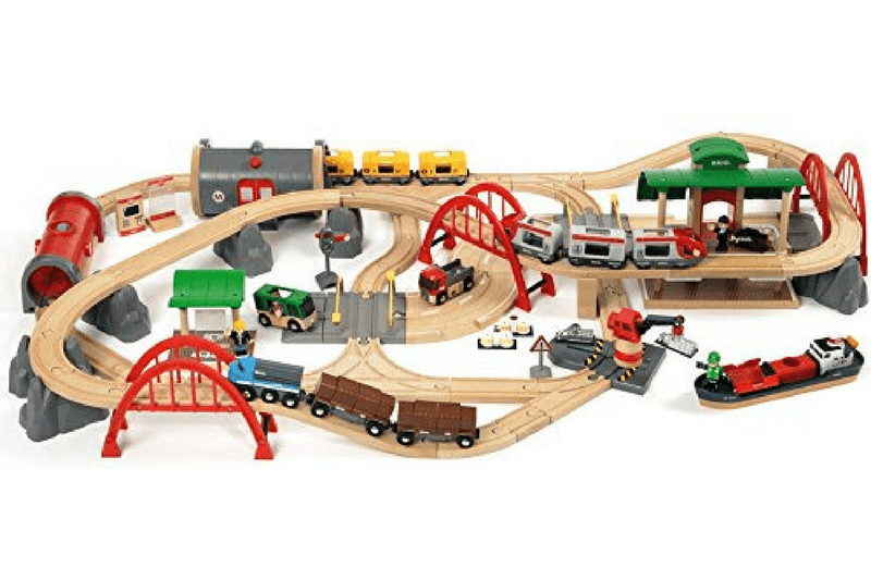 Top toys for 2 year old boys train set.