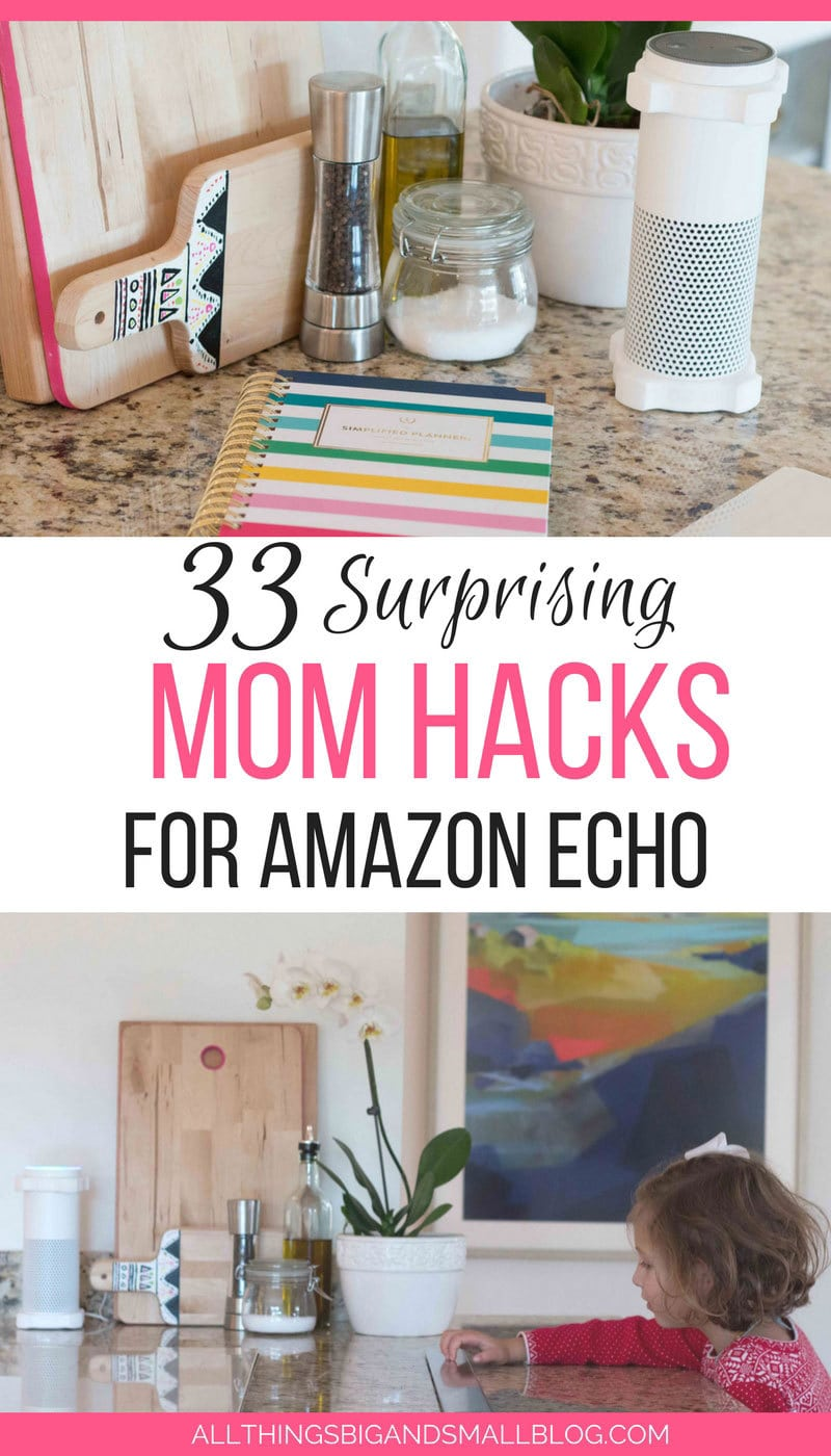 LOVE THIS! The best #momhacks for Amazon ECHO