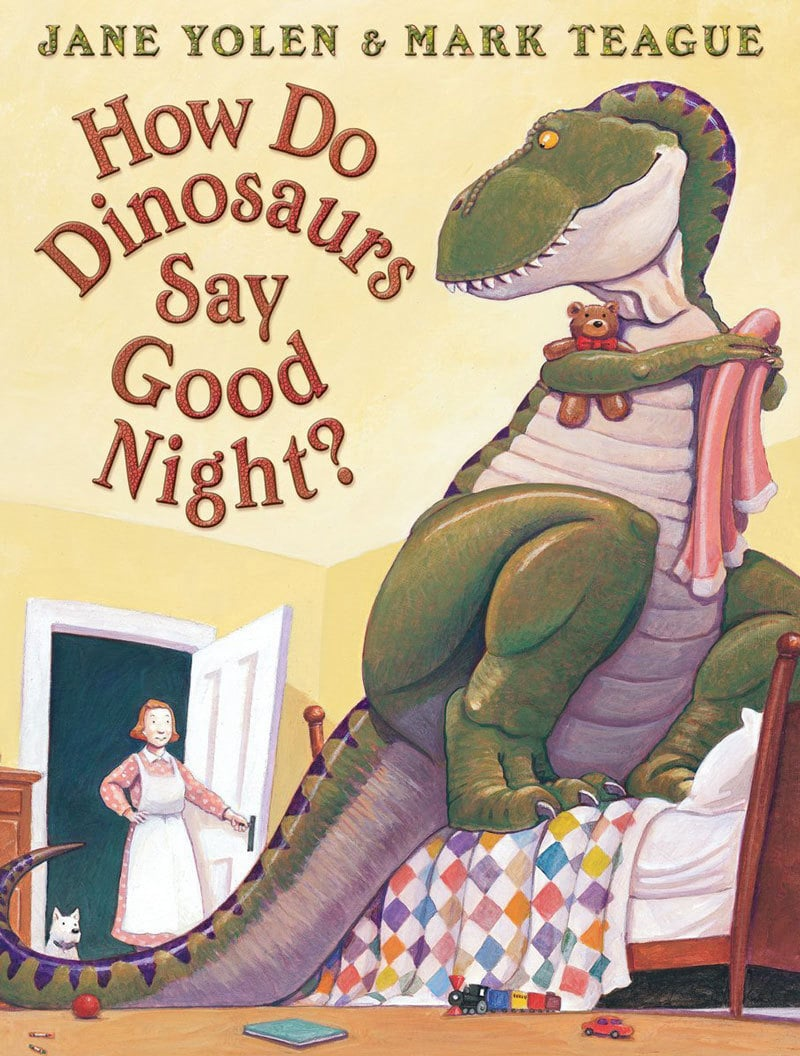 favorite dinosaur toys and dinosaur books--this gift idea list of books about dinosaurs and best dinosaur toys are great