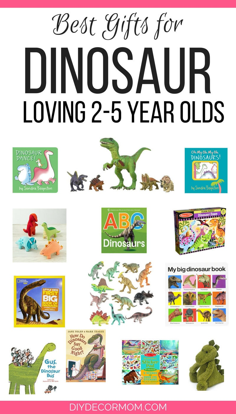 The BEST dinosaur toys for your dino-obsessed toddler--love these dinosaur toy gift ideas!