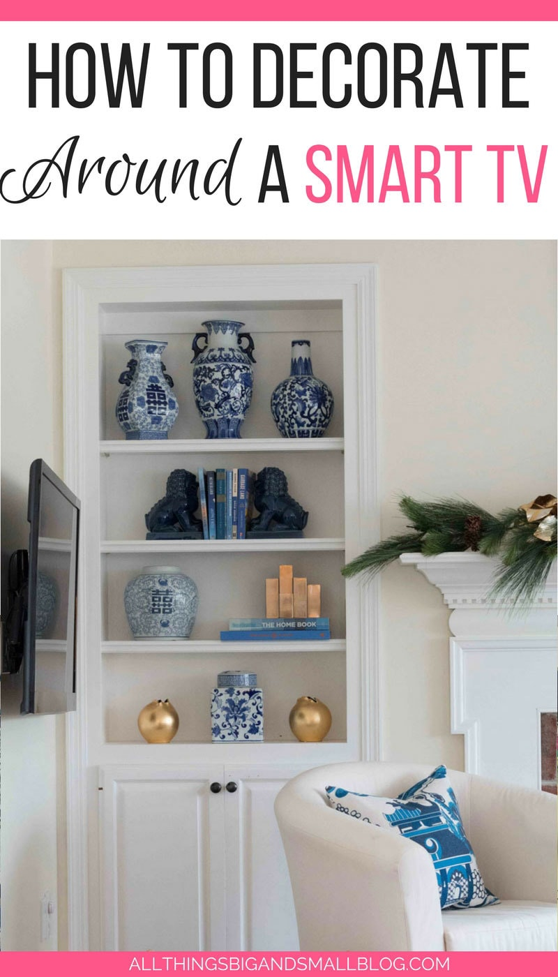 How To Decorate Around Your TV Are You Making This