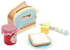 wooden play food toaster - Wooden Play Food by popular style blog DIY Decor Mom