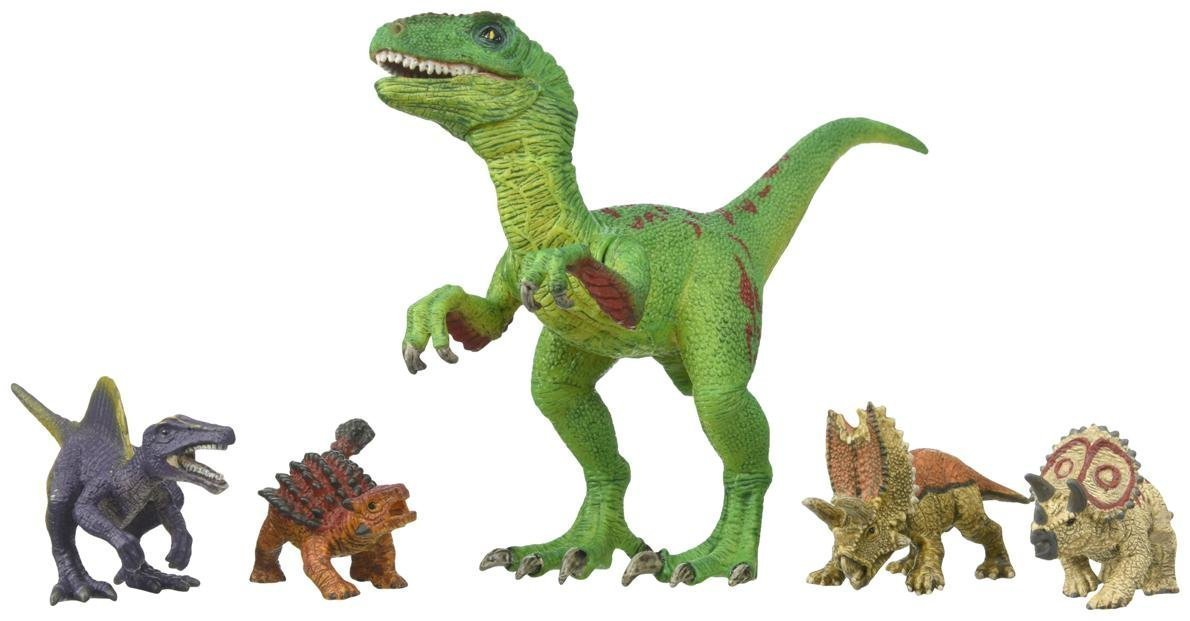 these are the most realistic dinosaur toys--these dinosaur figurines are perfect for little scientists!